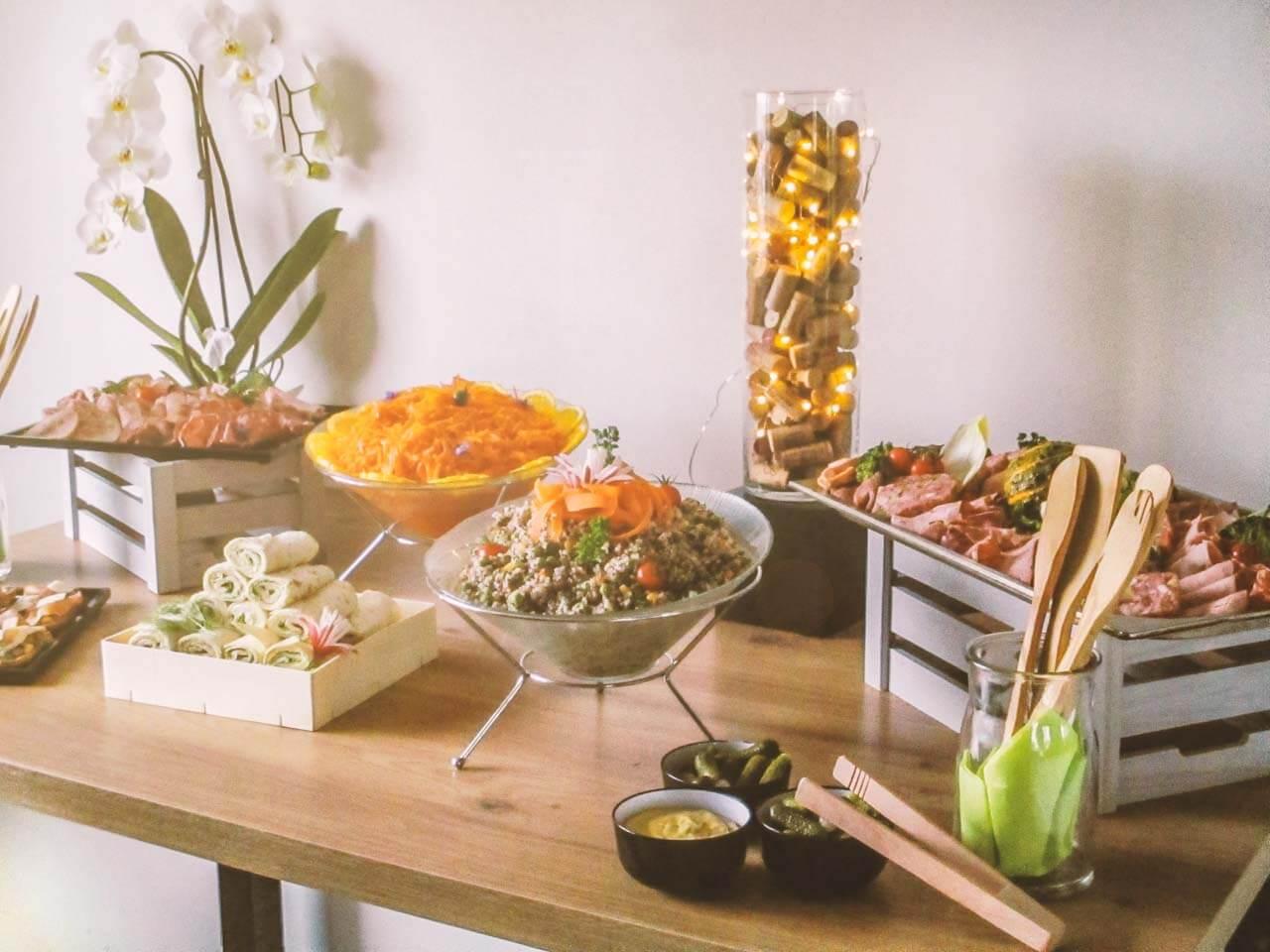 Kiwi - Cuisinier et Traiteur à Nancy - Buffet